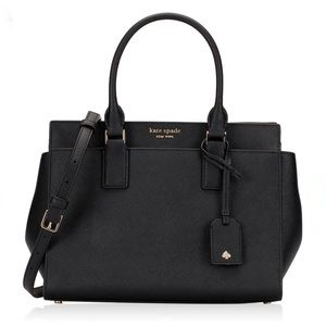 Kate Spade Cameron MD Leather Satchel Crossbody